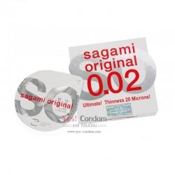 ซากามิ ออริจินอล 0.02 มม. (3 ชิ้น)
